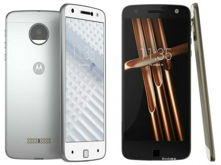 Leaked  Live Images and Glass Back Panel of Moto Z Play