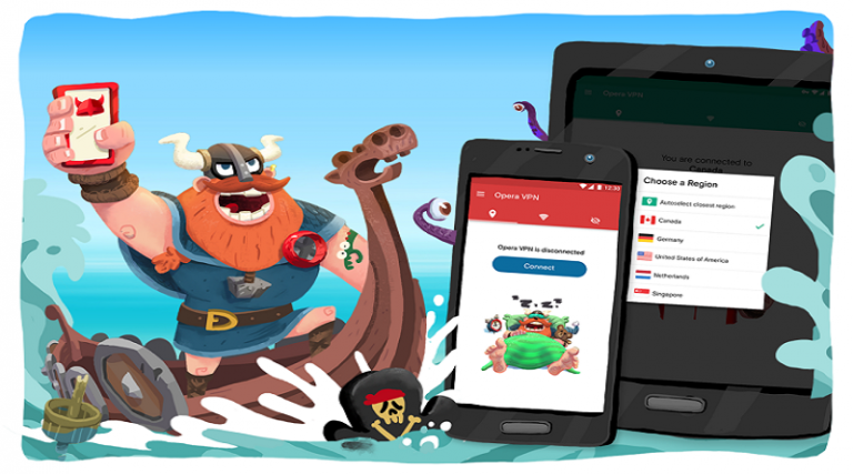 Opera Launches Free and Unlimited VPN Service App for Android Users