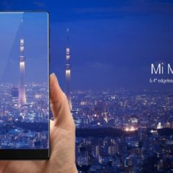 Xiaomi Launches Mi MIX with Borderless Display