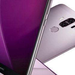 Huawei Mate 9 Rumors: Official Render Leaked Purple Mate 9 Image