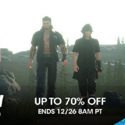 Christmas PSN Flash Sale is Live includes Final Fantasy XV, Watch Dogs 2, Steep, Dishonored 2, and more