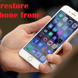 How to restore iPhone from iCloud or iTunes