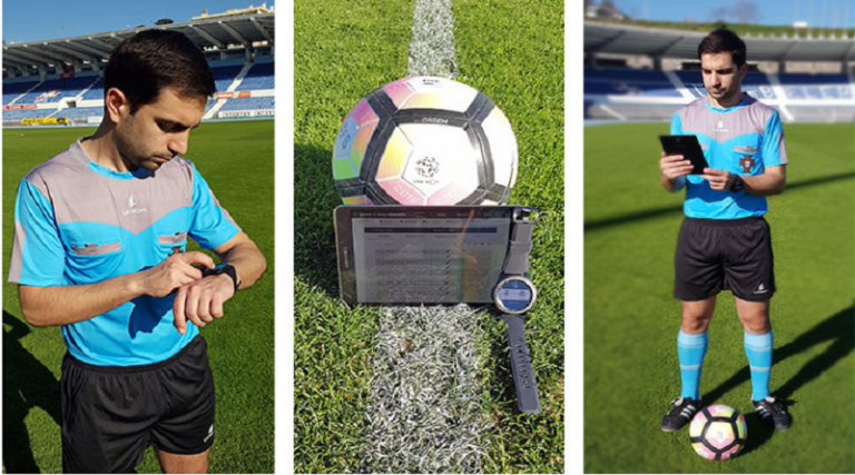 Samsung Gear S3 Straps on Liga Portugal Refrees for Easier Match Reporting