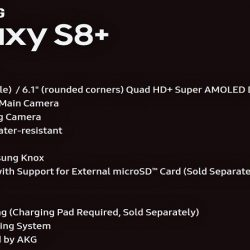 Samsung Galaxy S8+ Exclusive Features Image is Here, Revealing Everything