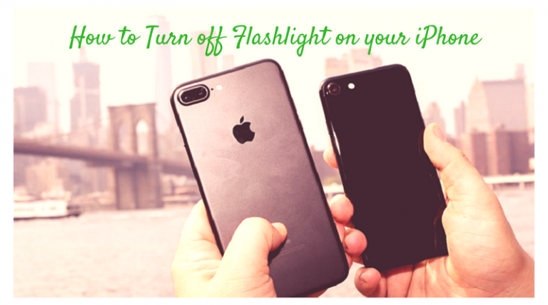 How to Turn off Flashlight on your iPhone