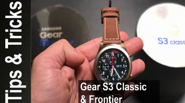 Best Samsung Gear S3 Tips and Tricks