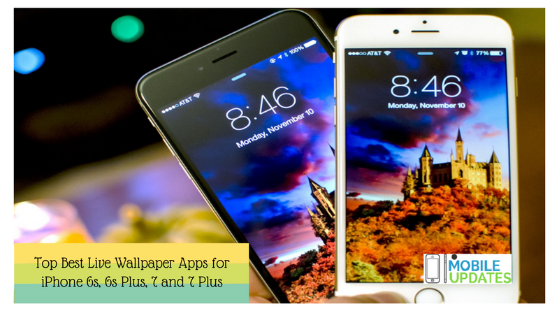 Top Best Live Wallpaper Apps For IPhone 6, 6s Plus, 7 And