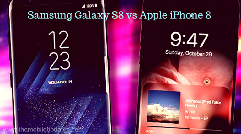 Samsung Galaxy S8 vs Apple iPhone 8 – One of these Smartphones Specs has a MASSIVE Problem
