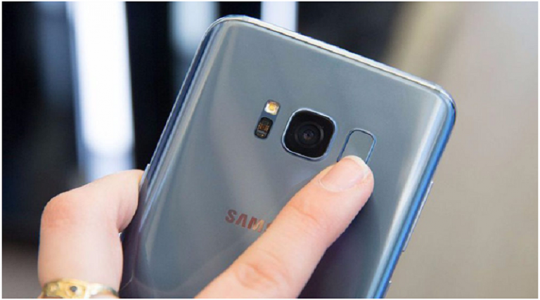 How to set up the fingerprint sensor on the Samsung Galaxy S8 or S8+