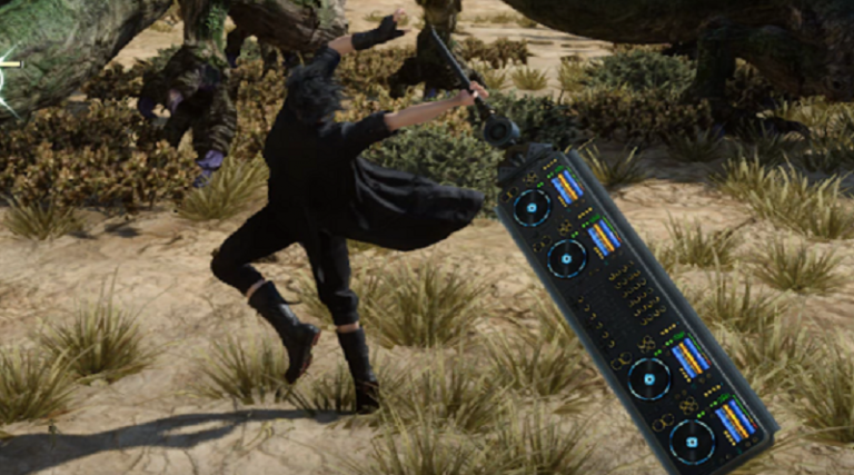 """Final Fantasy 15 UPDATE Gets the New Great Sword Called """"Afrosword"""" Inspired by Afrojack"""