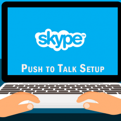 How To Enable Skype Push to Talk Feature