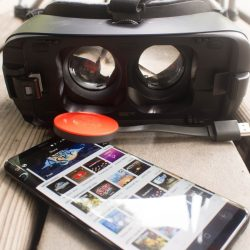 list of the different accessories for Samsung Gear VR