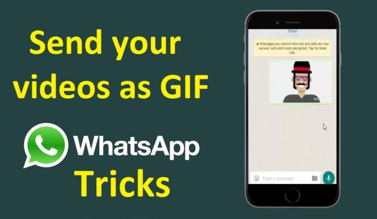 How To Convert A Video To GIF In WhatsApp?