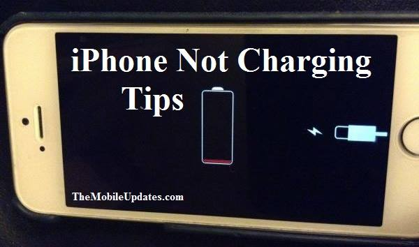 iphone wont't charge: What might be the reasons and How to fix it ?