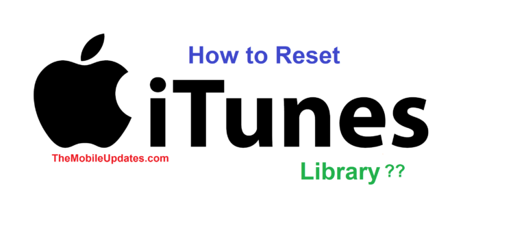Reset iTunes Library on mac OS x and windows