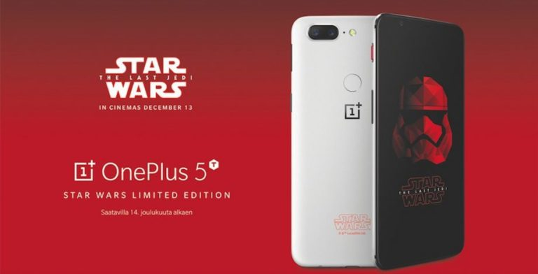 OnePlus 5T Star War Limited Edition Launched