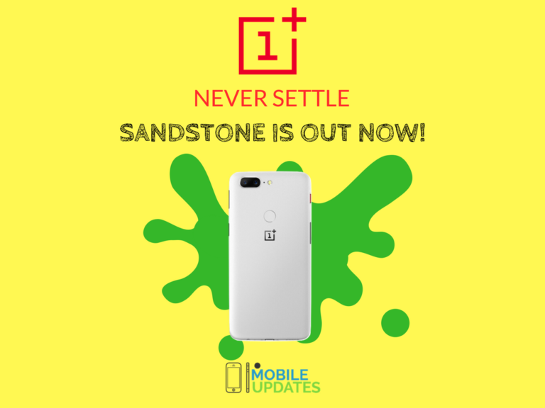 OnePlus 5T Is Now Available In A New Sandstone White Finished Look