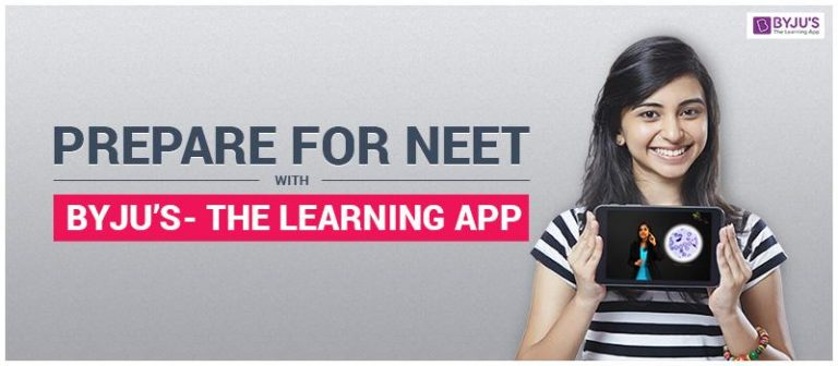 Prepare for NEET with Byju's- The Learning App