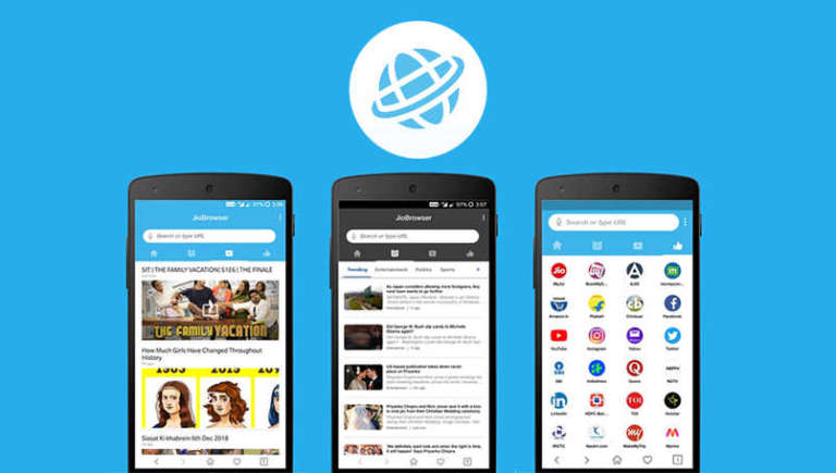 Jio Browser Launched For Android in 2019 – Take A Look