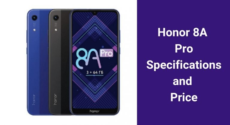 Honor 8A Pro with MediaTek Helio P35 SoC, Goes Official.